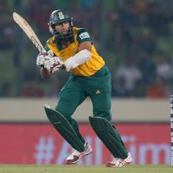 Amla shines with the bat, while SA doesn't