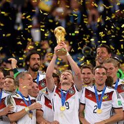 Germany win their 4th Football World Cup