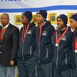 Free State laud table tennis teams