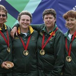 Gold for SA's women's fours