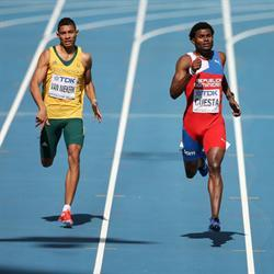 Van Niekerk into 400m final