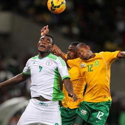 Bafana share points with the Super Eagles
