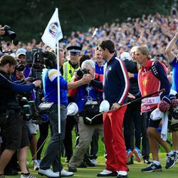 Europe make it three in a row at the Ryder Cup