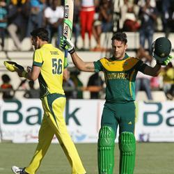 Faf makes it two in two against Australia