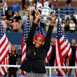 Williams joins the 18 Club with US Open win