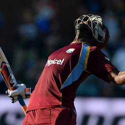 Russell blasts the Windies to victory