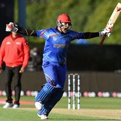 Historic win for Afghanistan