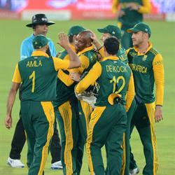 The Proteas cricket team depart for World Cup