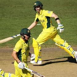 Australia looking strong against India