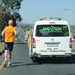 Mad runners breeze through Bloem