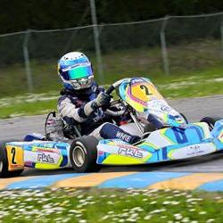 White invited to race in CIK-FIA Karting Academy Trophy