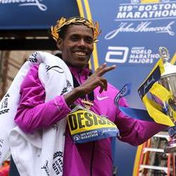 Desisa and Rotich win the 119th Boston Marathon