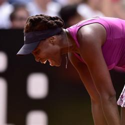 Venus first big name to tumble at Roland Garros