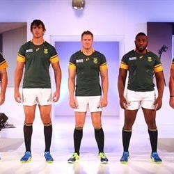 Springbok World Cup jersey launched