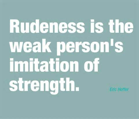 rudeness on the rise How rude it has been proven that stress from disrespect and bullying can cause a decrease in performance and cognitive abilities in fact, many.