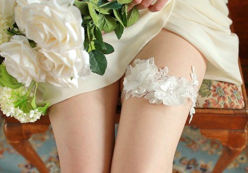 The Wedding Garter Is Said To Be One Of Oldest Traditions Dating Back Dark Ages After Festivities Guests Would Accompany