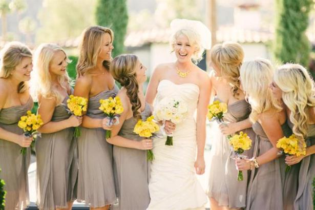 Yellow And Silver Wedding Dresses : The wedding planner bridesmaid dresses trends for ofm