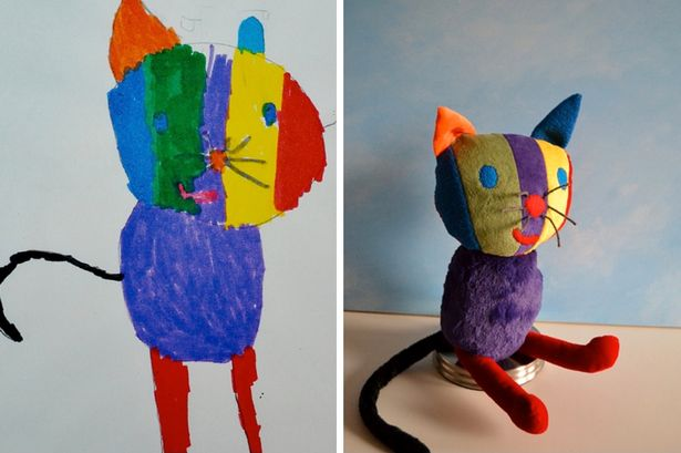 Toy company transforms your child's artwork into a stuffed ...