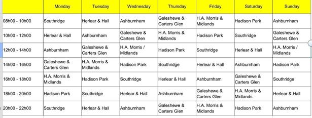 New Load Shedding Schedule For Mangaung And Free State