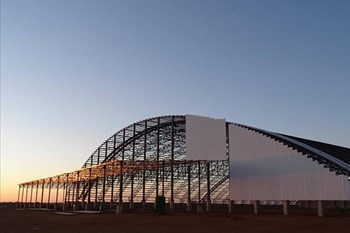 Fertilizer company erects biggest dome in southern hemisphere | Agriculture News Article