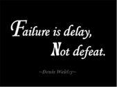The Good Blog - How to Defeat Failure in 60 Seconds | Blog Post