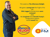 The Best Of The Afternoon Delight 16-20 January 2017. | Blog Post