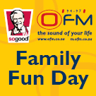 KFC OFM Family Fun Day - Bloemfontein - 9 November 2013