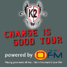 K2 Tour - 11 October - 08 November 2014 - Kimberley - Potchefstroom - Klerksdorp - Vanderbijlpark and Bethlehem