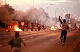 Ongoing service delivery protests in Kimberley