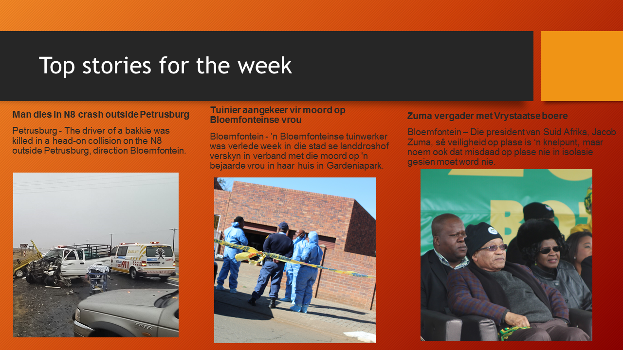 Top stories for the week | OFM