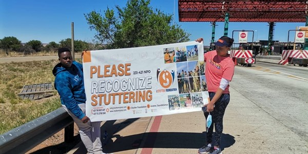 #Istutter campaign on first leg of journey - PHOTOS   News Article