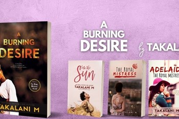 Book Talk: 'A Burning Desire' by Takalani M set to warm people's hearts | Blog Post