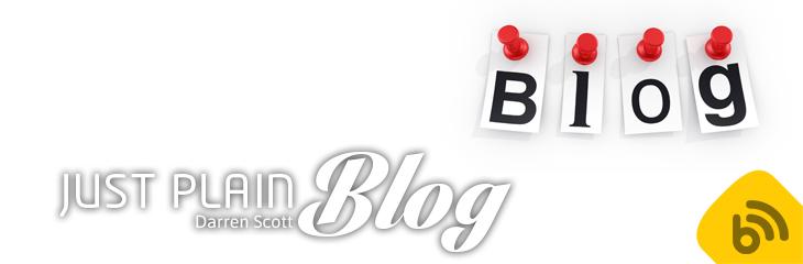 Just Plain Blog