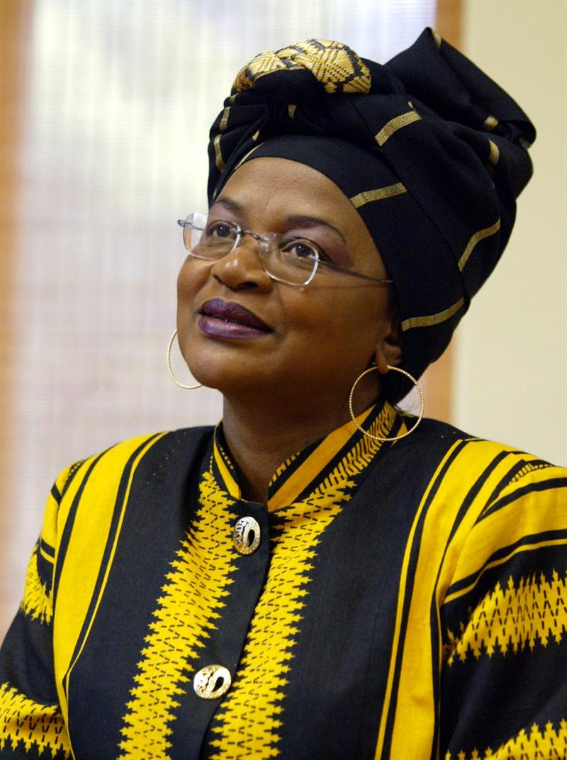 Baleka Mbete disappointed by yesterday's parliament