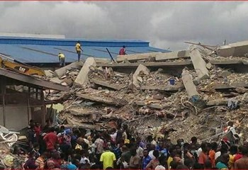 Nigeria building collapse: SA survivor tells of days of darkness | News Article
