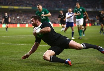 The All Blacks break Irish hearts with a last ditch try at Landsdowne Road   News Article