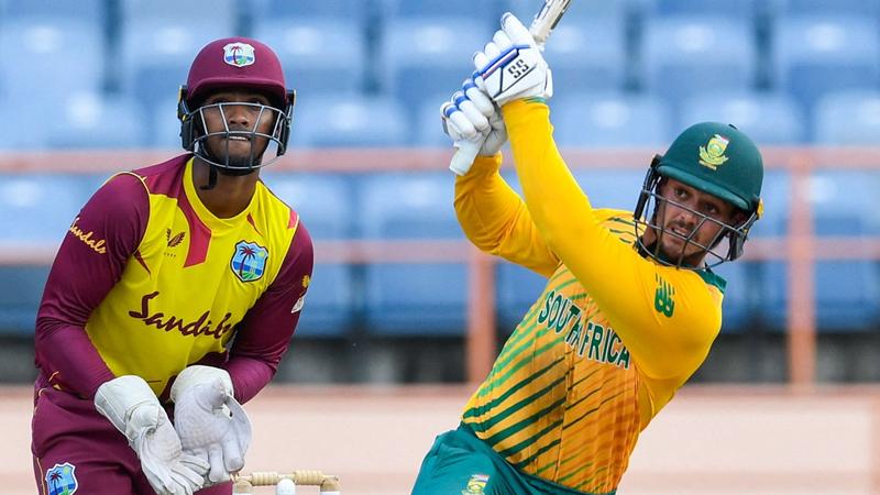 De Kock breaks into T20 top 10 | News Article