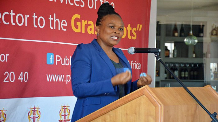 Public Protector issues a report on Bfn businessman   News Article