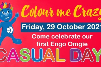 Support Engo FS on Omgie Casual Day  | News Article