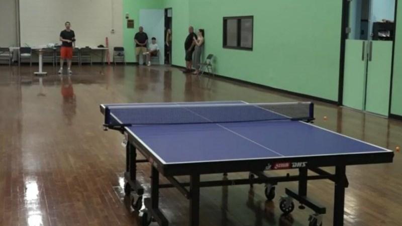 New York man hits world's longest table tennis serve | News Article