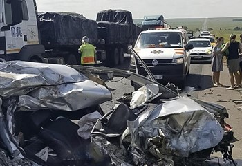 One dead and three injured in N3 crash | OFM
