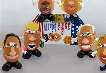 US presidential frontrunners turned into Potato Heads | News Article