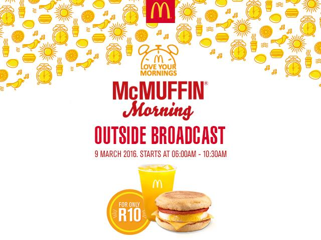 McDonald's McMuffin Morning Outside Broadcast