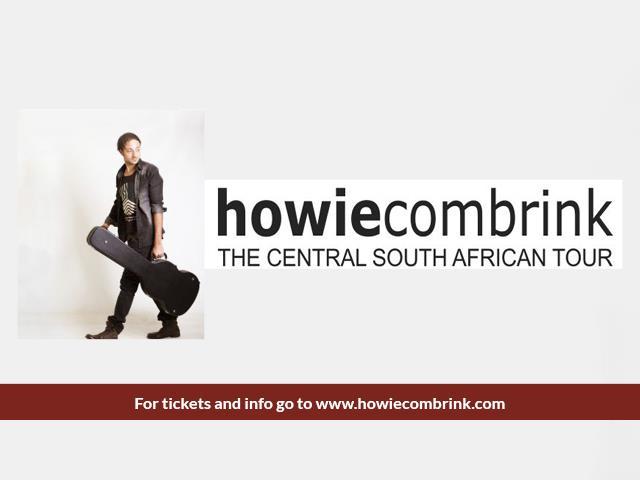 Howie Combrink Central SA Tour