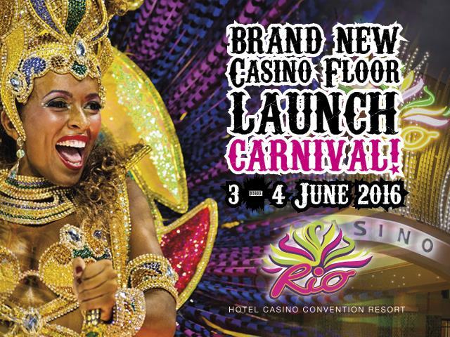 Rio Casino Floor Relaunch