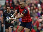 Zebo to leave Munster | News Article