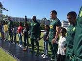 The Locker Room: Springboks, Laureus join forces to educate youngsters the active way | Blog Post
