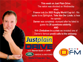 The Best Of Just Plain Drive 13-17 November 2017 | Blog Post