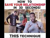 The Good Blog - HOW TO SAVE YOUR RELATIONSHIP IN 30 SECONDS | Blog Post