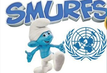 VIDEO: UN, Smurfs team up to promote happiness and sustainable development | News Article